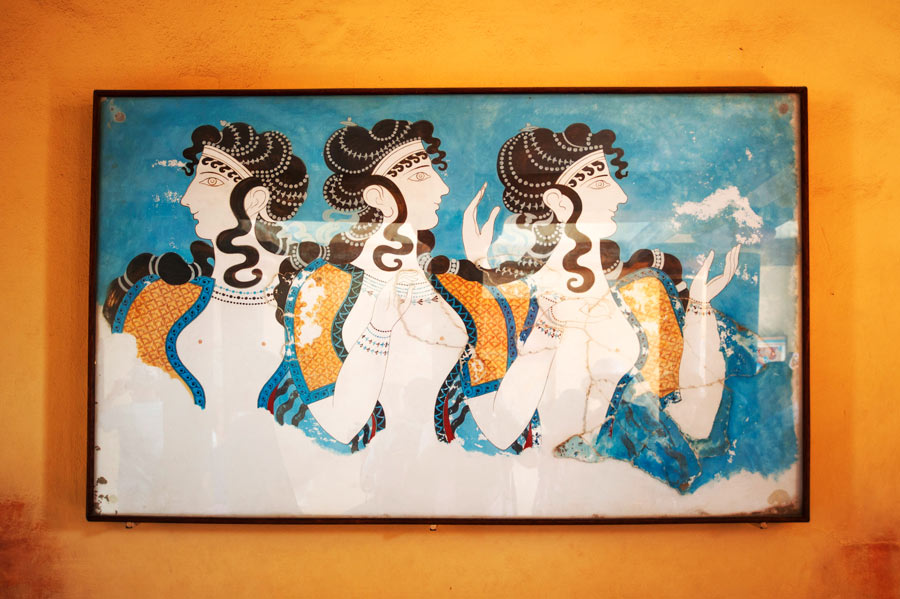 picture in knossos